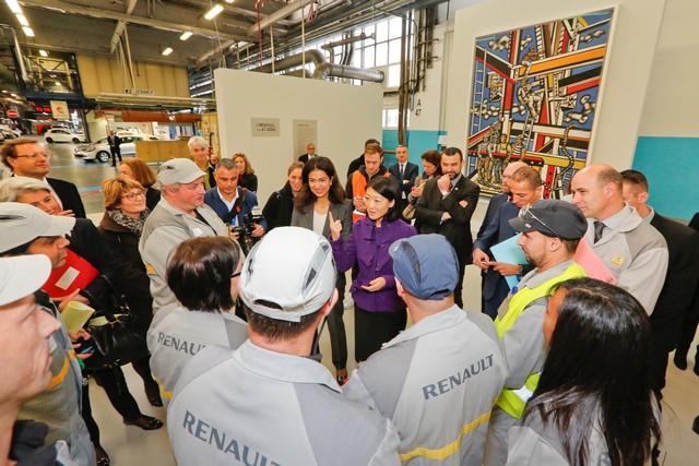 L'entreprise à l'œuvre : l'usine de Flins expose « les constructeurs » de Fernand Léger 1614686318016