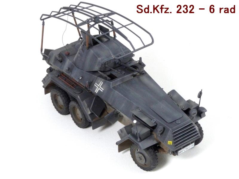 Sd.Kfz. 232 6 Rad - France 1940 - Italeri 1/35 163067P1040089