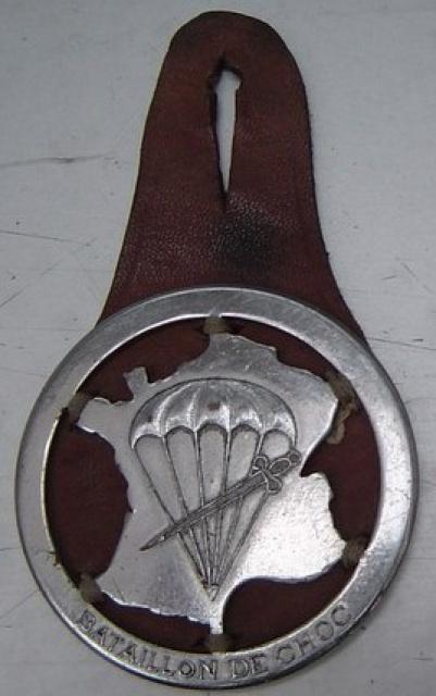 LES INSIGNES DU BATAILLON DE CHOC 1943/1963. 163528RaphFIM
