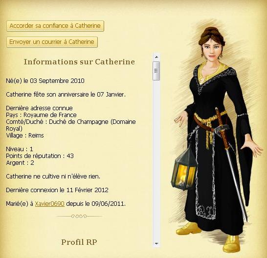 Catherine [TOP] Insubordination judiciaire + délit de fuite - Le 11/02/1460 163767fichecatherine