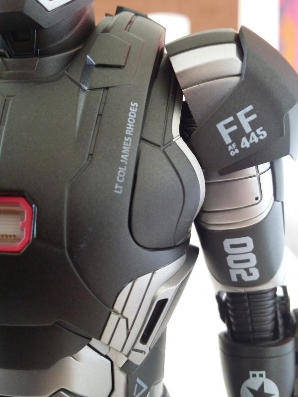 """red360 collec"""": War Machine MKII Diecast Hot Toys 164076201407161551481"""
