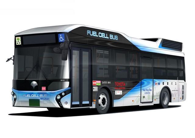 Toyota Livre Un Bus À Hydrogène Au Gouvernement Métropolitain De Tokyo 1654862017022401011