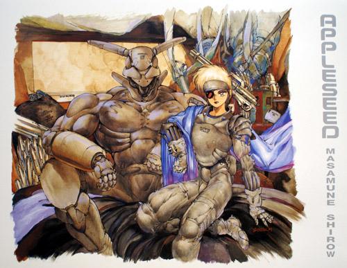 Masamune Shirow 165982ShirowApple1