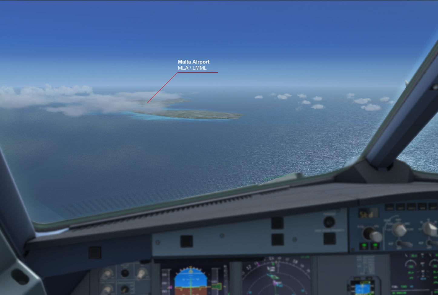 [IVAO] A320 SWISS - LMML 166097A320Matlalanding