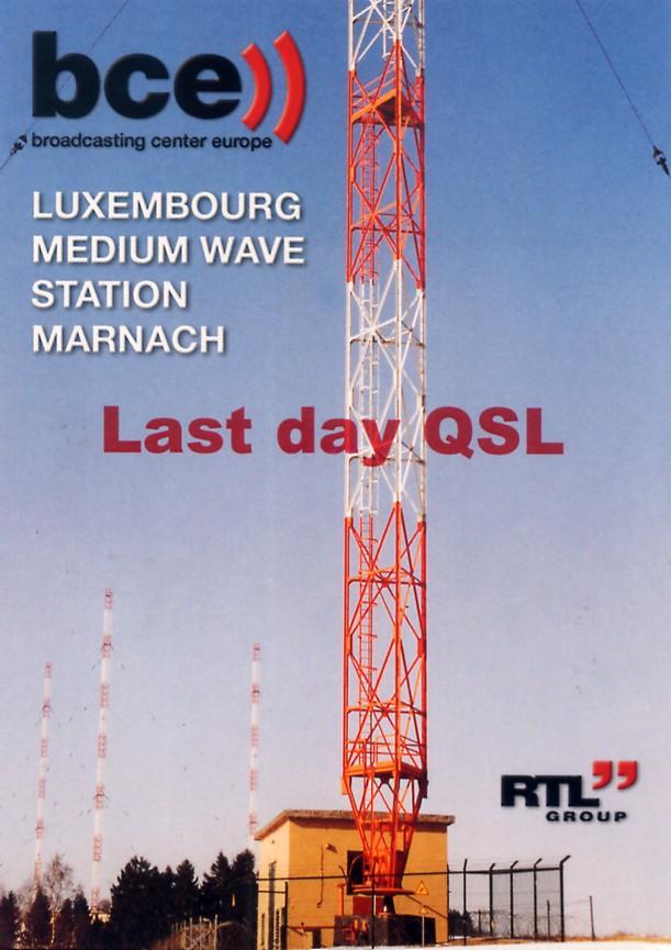 Les anciennes QSL's des membres du Forum - Page 20 166246Luxembourg20151