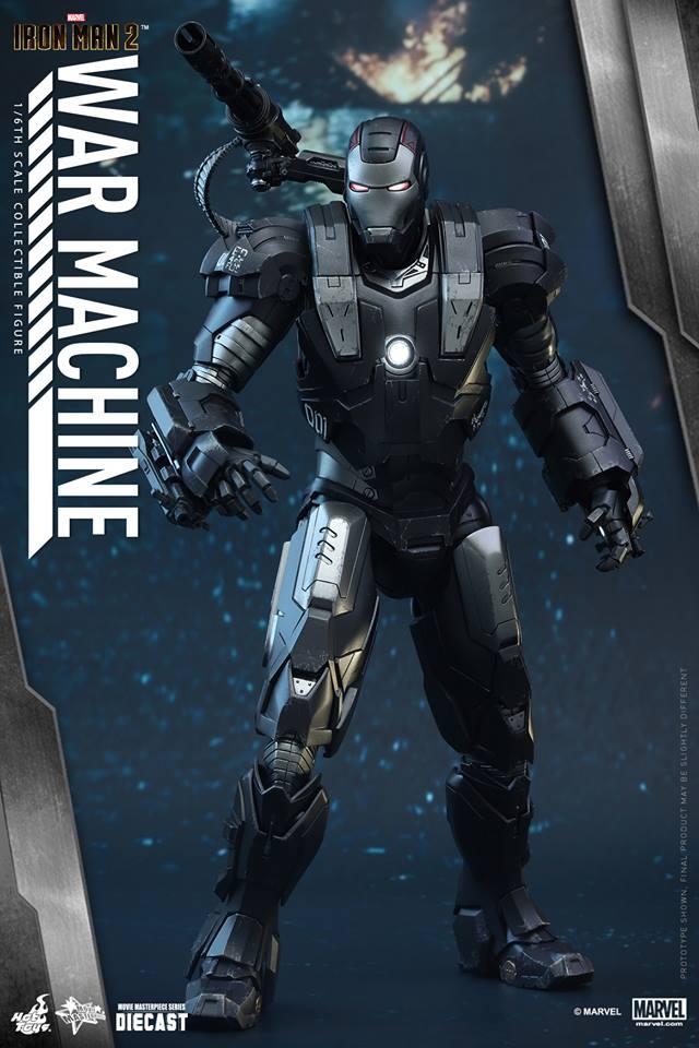 HOT TOYS - Iron Man 2 - War Machine Diecast 167160107