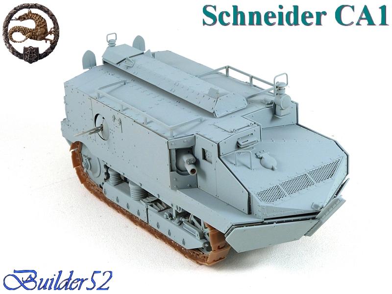 CHAR SCHNEIDER CA 1 - HOBBY BOSS 1/35 169920P1040938