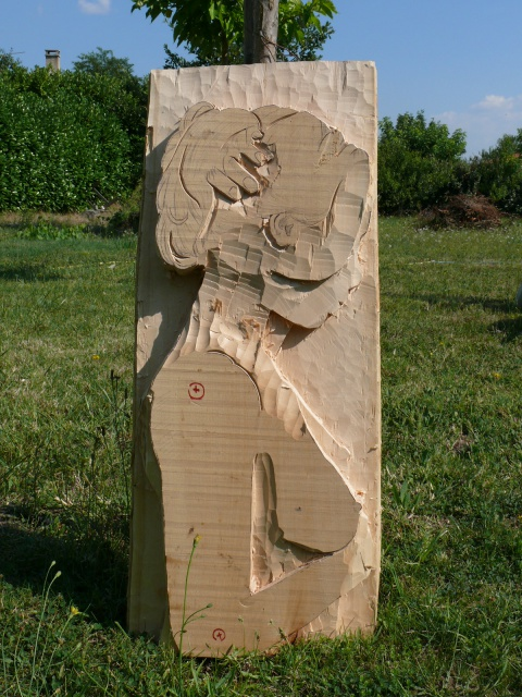JJ - bas relief d'un nu (2013) 170505049