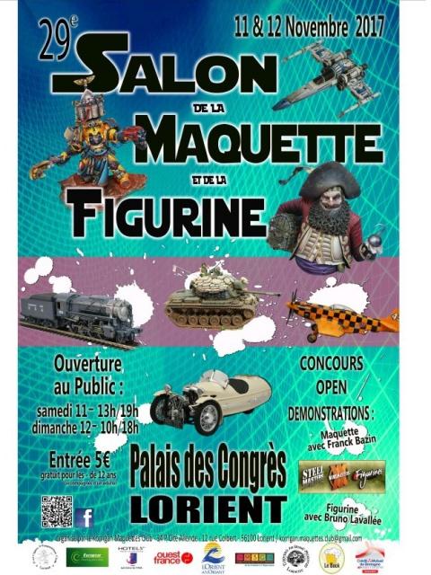 29ème Salon de la Maquette et de la Figurine - Lorient (56) - 11 & 12/11/2017 171006ExpomaquetteLorient2017
