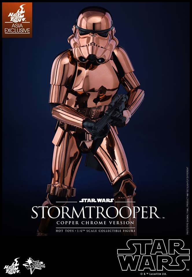 HOT TOYS - Star Wars: TFA - Stormtrooper Copper Chrome 172776102