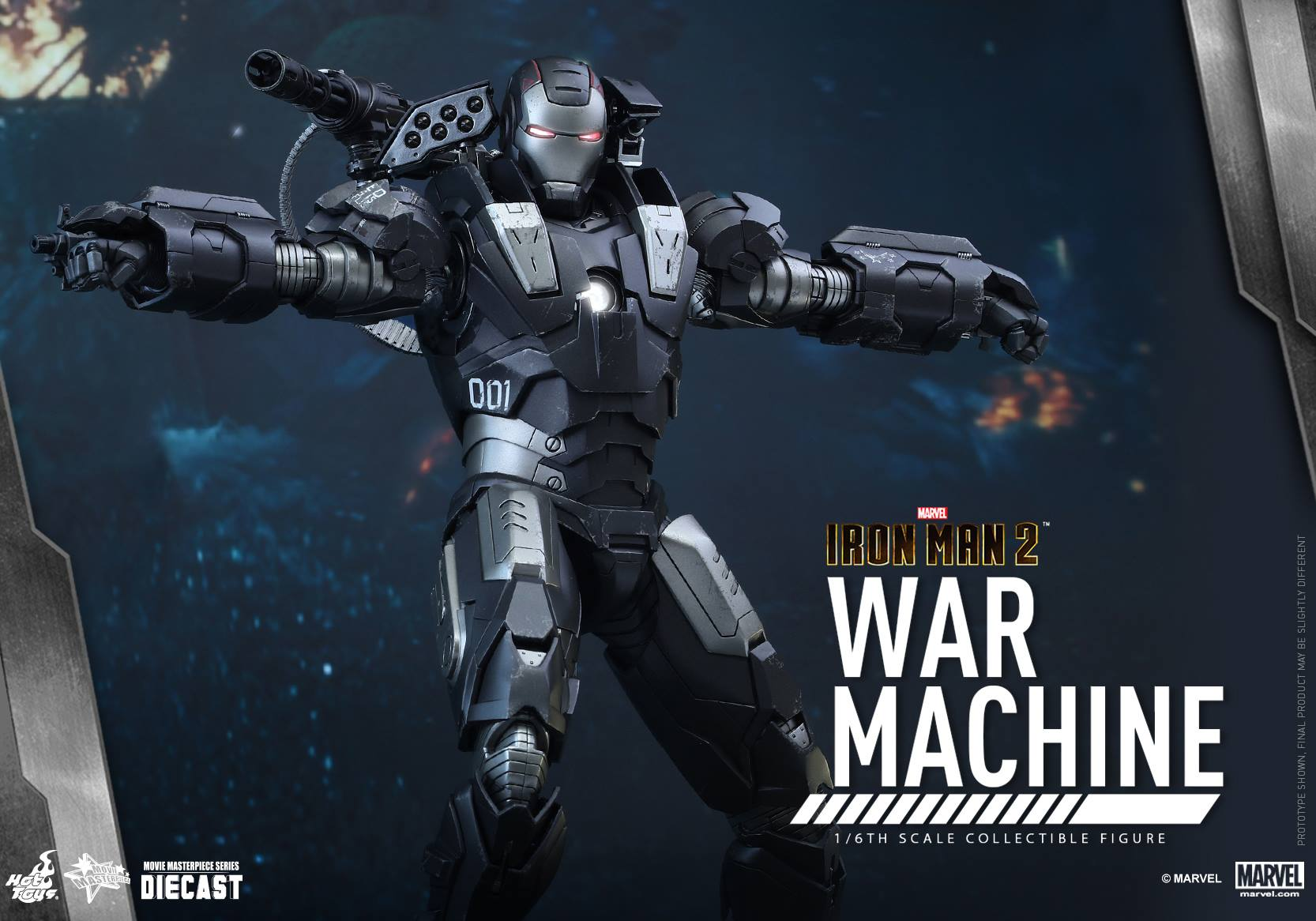 HOT TOYS - Iron Man 2 - War Machine Diecast 173804103