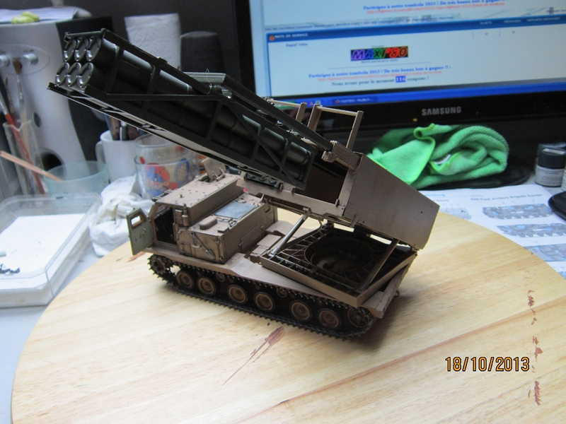 M270 RMLS w/M26 ROCKET PODS 1/35 de modern AVF series 173955IMG1715800x600