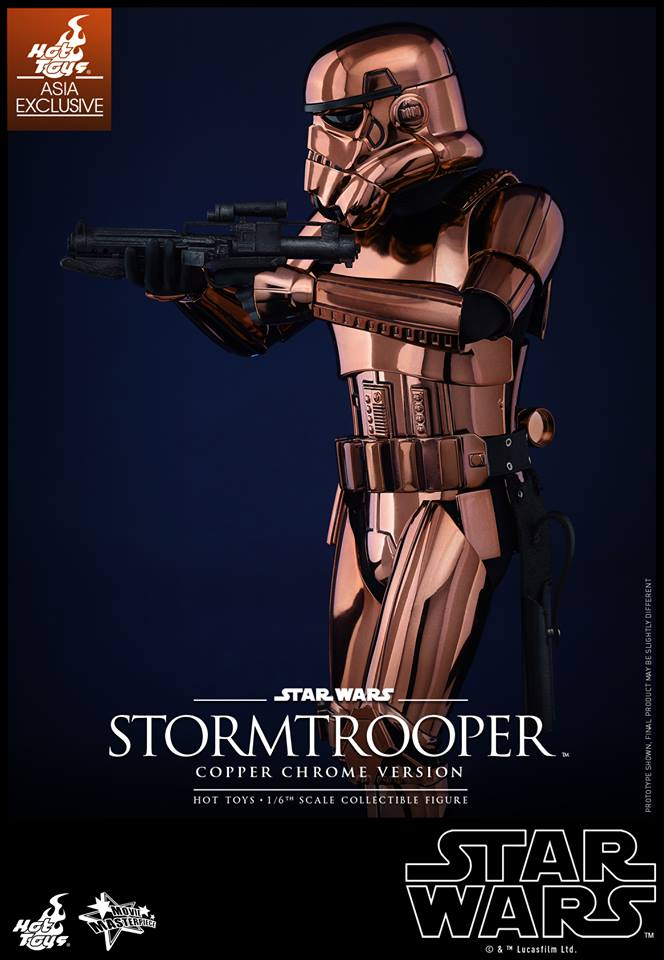HOT TOYS - Star Wars: TFA - Stormtrooper Copper Chrome 175600107