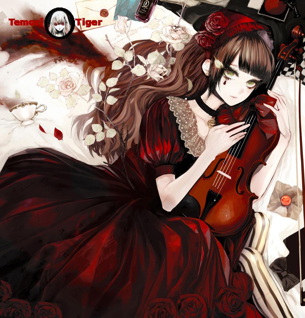 Render anime girl 175880405672renderfilleviolonCopie