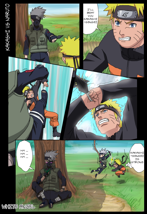 """image naruto  """" marrante"""" - Page 5 176040Kakashi_Vs_Naruto_by_white_angel_7"""