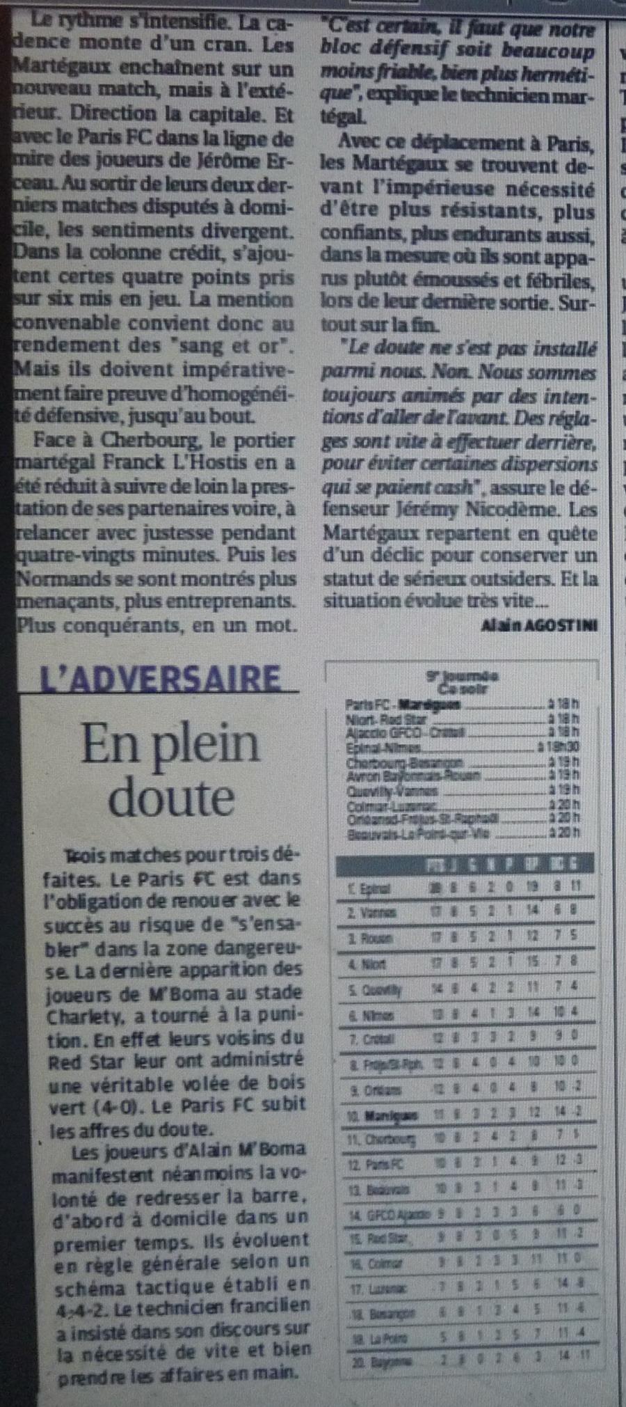 PARIS FC 176100P1220499