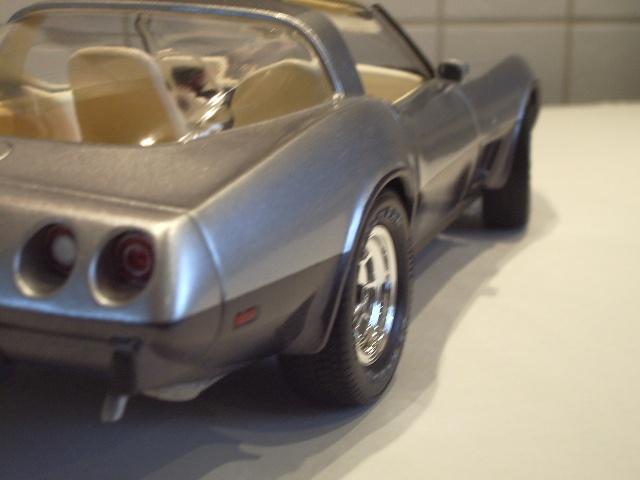 chevrolet corvette 25 th anniversary de 1978 au 1/16 - Page 2 176372IMGP8899