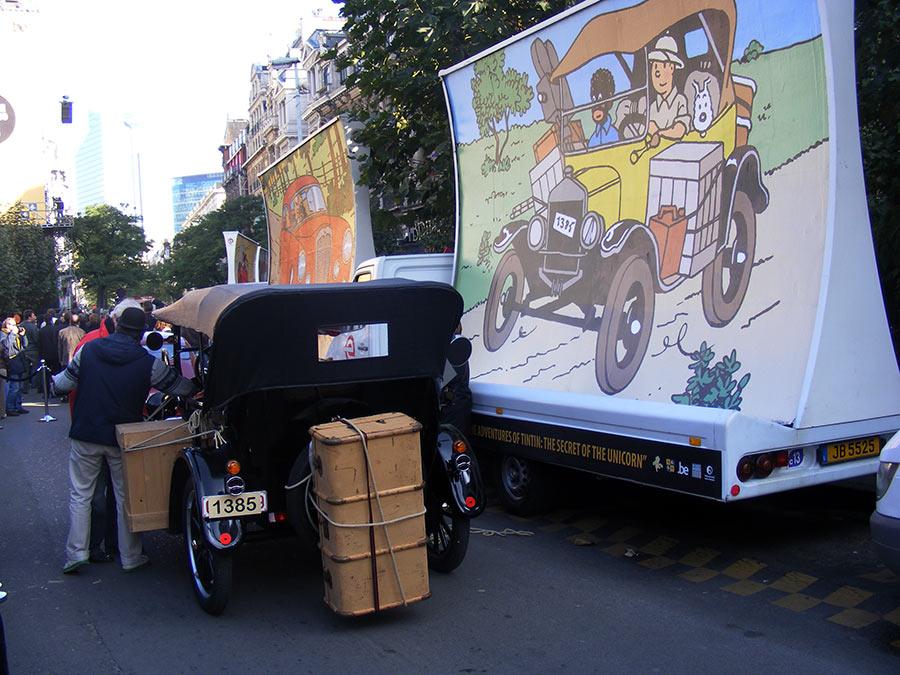 """Bruxelles côté BD  """"Tintin en automobile"""" - Page 2 177332DSCF6283"""