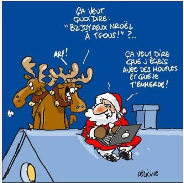 Photos droles ou cocasse du Père Noel - spécial fin d'année 2014 .... 177565vesuve
