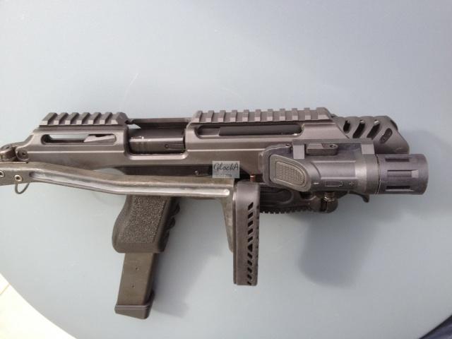 Kit carabine K.P.O.S pour Glock (Copie modèle FabDefense-Génération 1) 179440IMG6080
