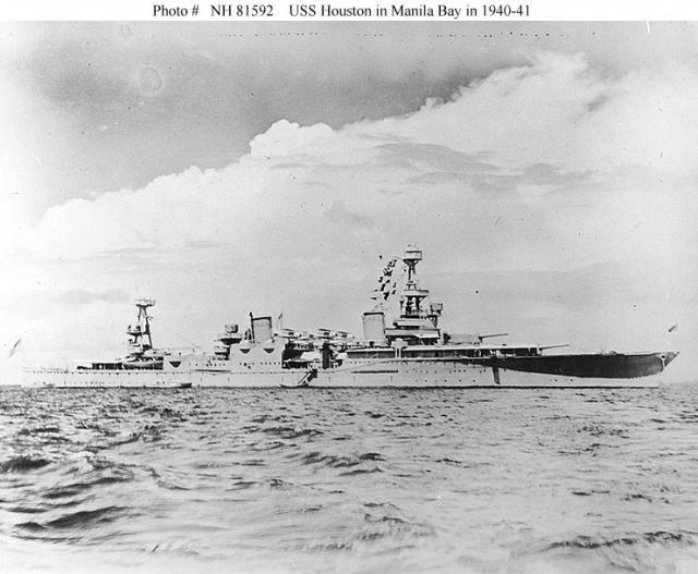 USN CROISEUR LOURD USS WICHITA 179962USSHouston