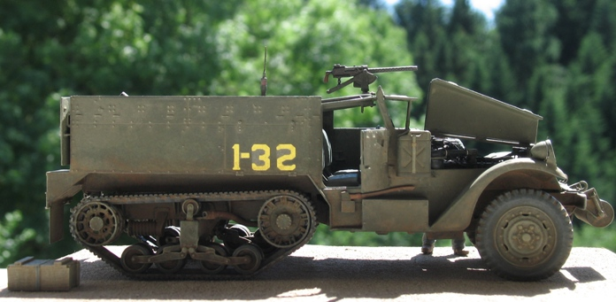Half-track M4 mortier Dragon 1/35 180420modles117010