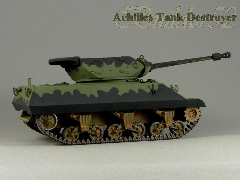 Achilles Tank Destroyer - Academy-Italeri + RB Model + set Blast 1/35 182680P1030813