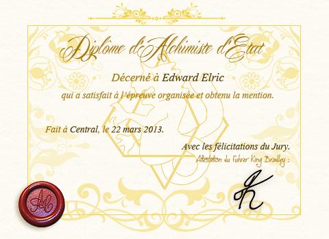 Examen Edward Elric 182781DiplomeEdwardElric