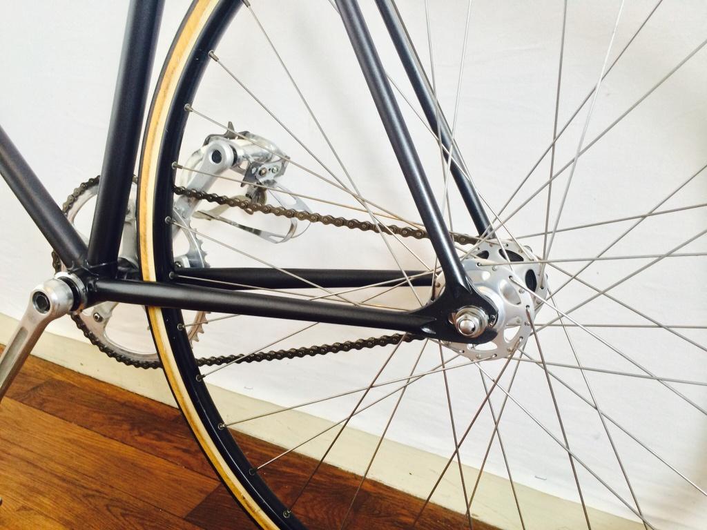 Vélo de piste Jean Marie Brun Tubes Columbus 182975image