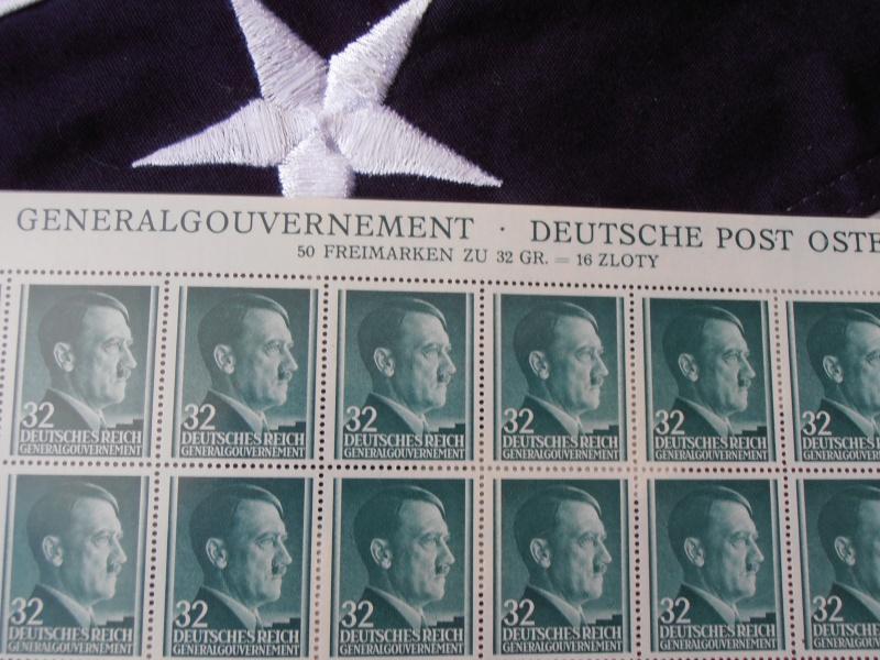 Planche de Timbres Adolf Hitler  183051P8160022