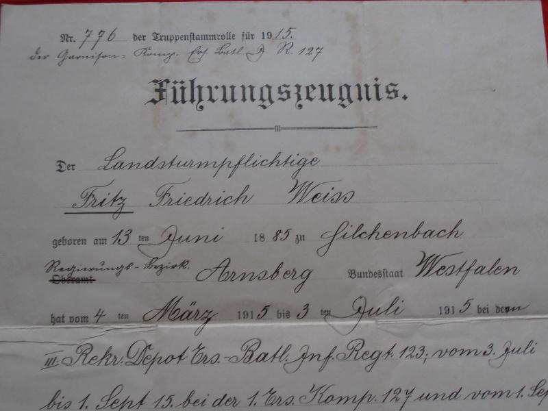 Quelques documents Allemands 183918P6210002