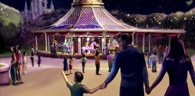 [Shanghai Disneyland] GARDENS OF IMAGINATION (Fantasia Carousel/Dumbo/Mickey/Marvel/Golden Fanfare/Parade) 183969sd43