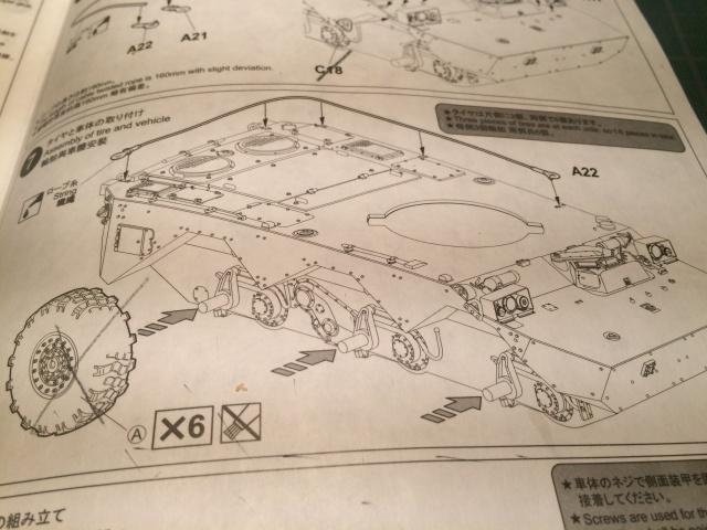 AMX 10 RCR SEPAR maquette Tiger Model 1/35 184293IMG3780