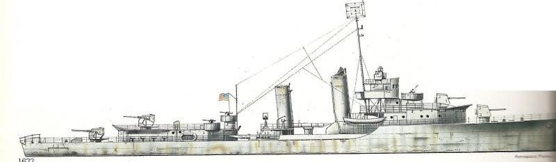 USN DESTROYERS CLASSE MAHAN 185144ClasseMahan