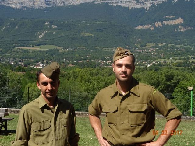 Chocs parachutés , libération Pont de Claix , Grenoble Août 1944 186249DSC01271min