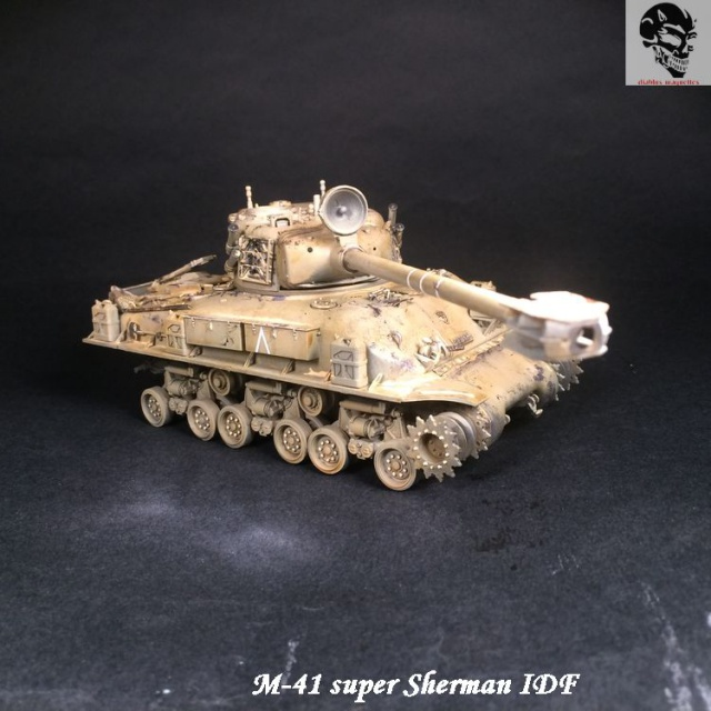 M-51 Super Sherman IDF - Academy 1/35 186603IMG4893