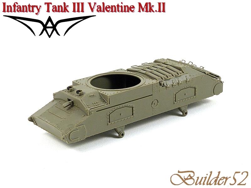 Infantry Tank III Valentine Mk.II - AFV CLUB 1/35 187078P1050335