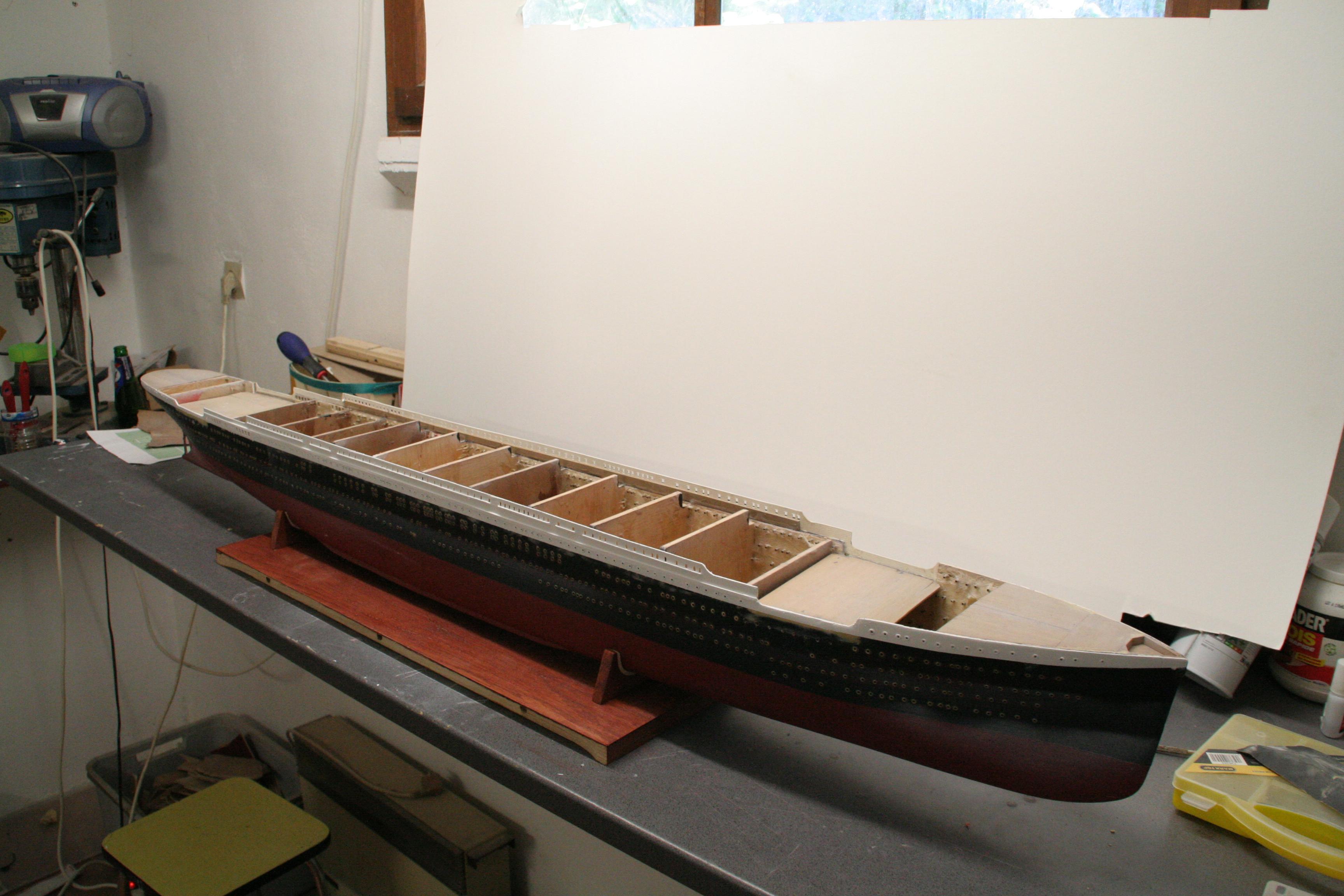 RMS Titanic sur plan   au 1/200 1870844728