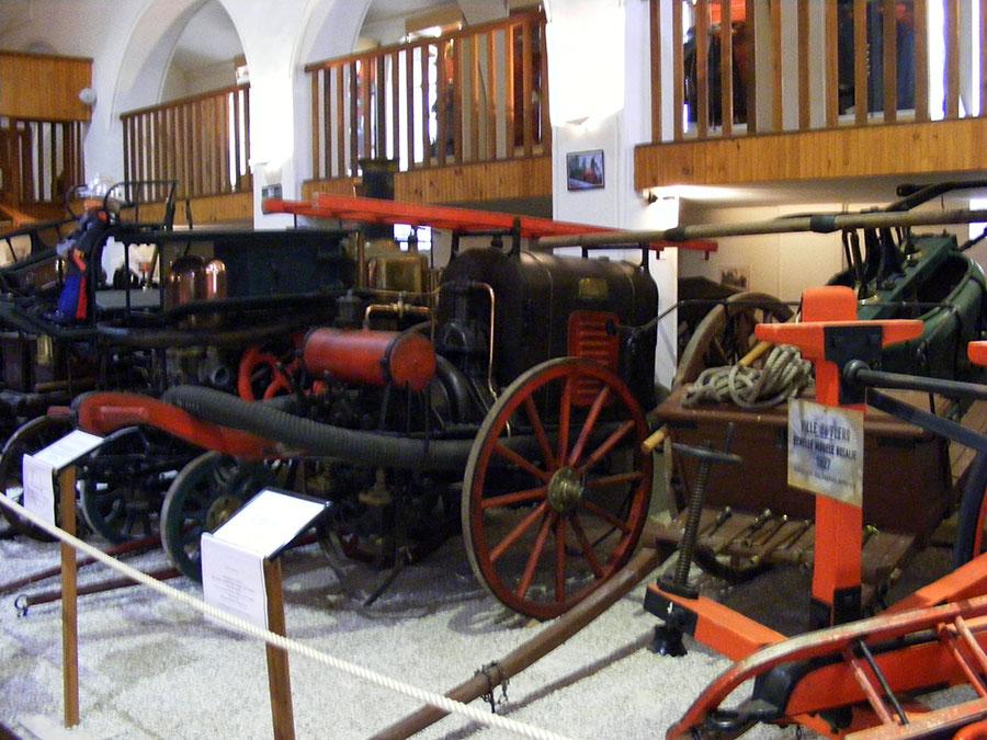Bagnoles de l'Orne - Musée départemental des pompiers. 189051DSCF1733z9
