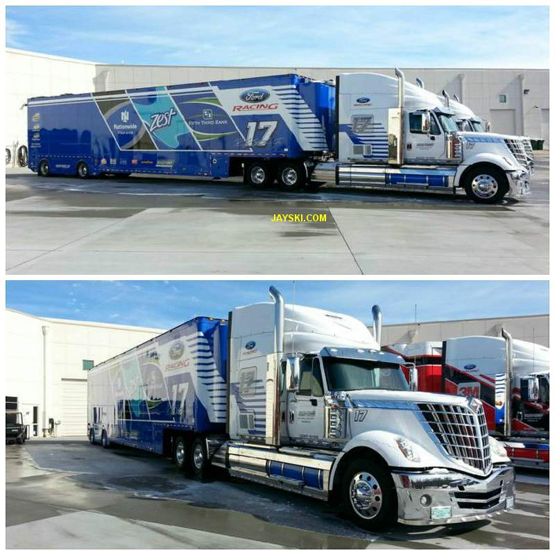 Nascar & Jeff Gordon's tribute 18979017roushhauler