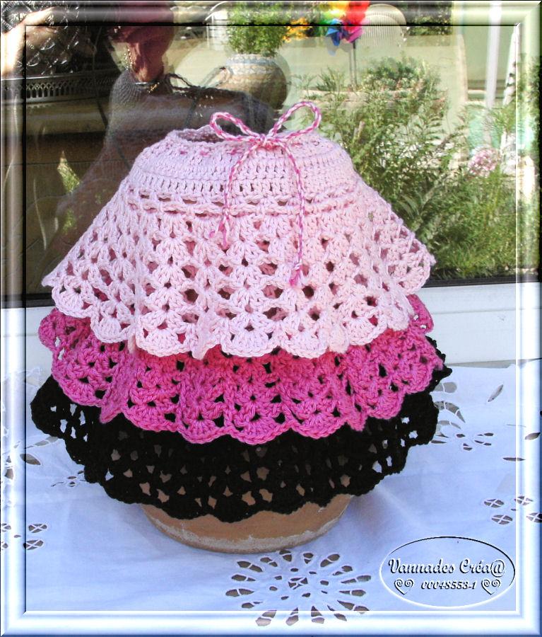 "Miss "" Lancy"" poupée au crochet 190191LaRobe"