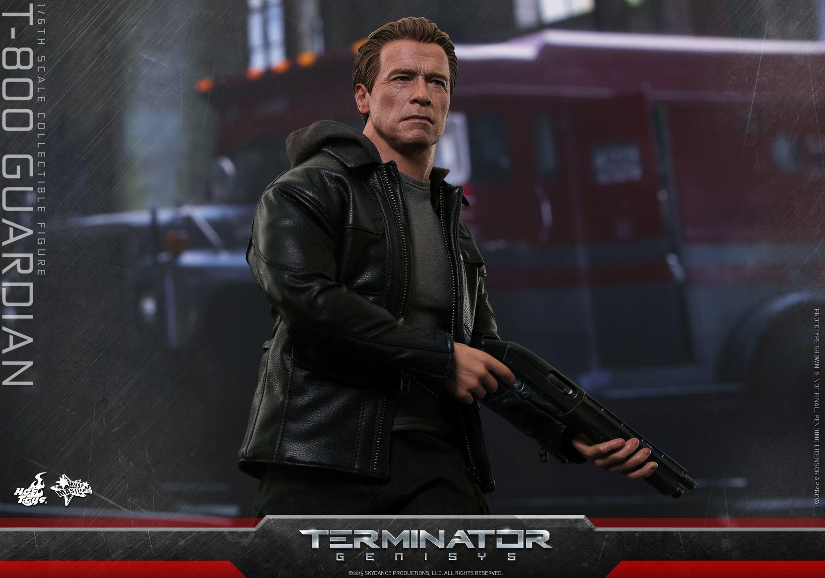 HOT TOYS - Terminator Genisys - T-800 Guardian 190951111