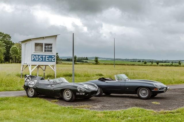 Les Jaguar XF, F-Pace et F-Type célèbrent les 60 ans de la victoire de la Type D aux 12 Heures de Reims Lors De La 22ème Edition De Sport Et Collection 191588IMG4728LowRes