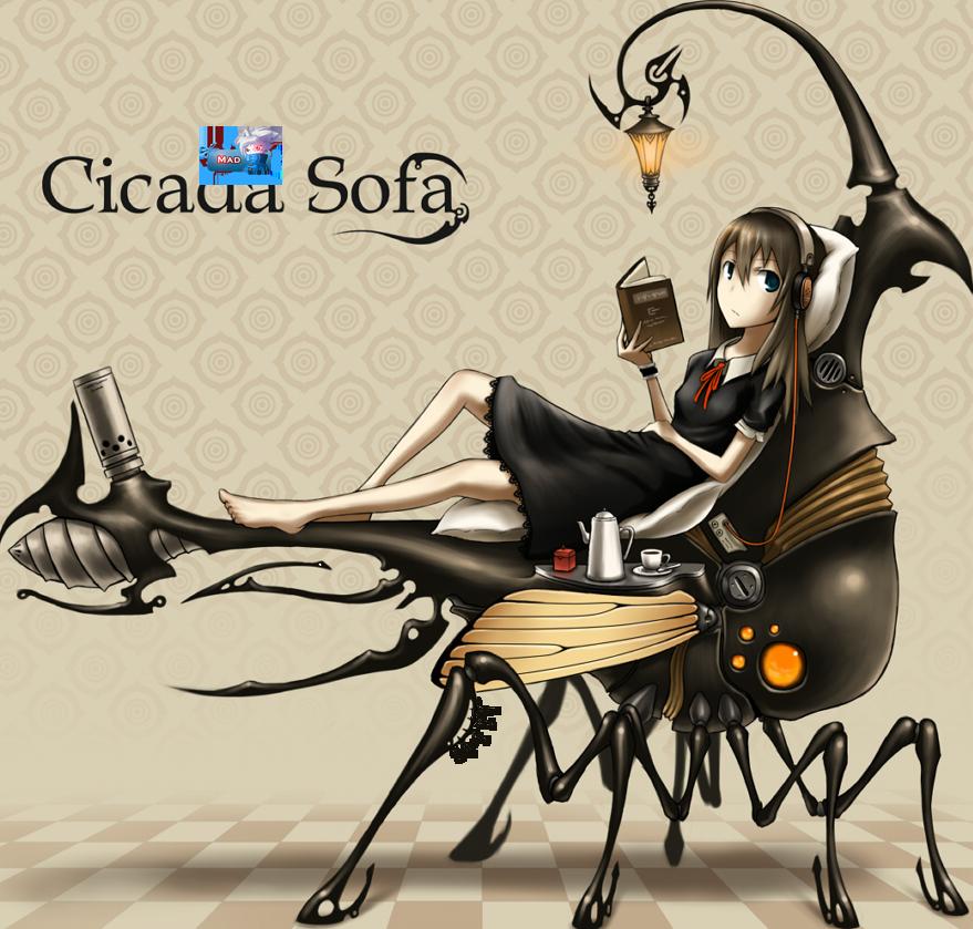 La fillette et la mouche relax 191878FilleMoucheMechaRobotGiarenderbyMad