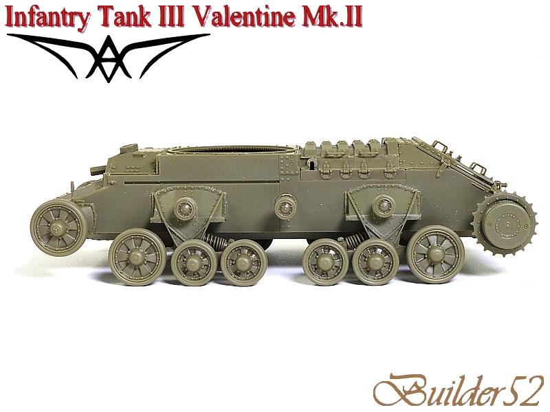 Infantry Tank III Valentine Mk.II - AFV CLUB 1/35 191951P1050393