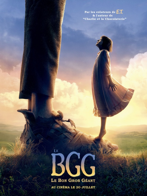 Le Bon Gros Géant de Steven Spielberg 192108545422