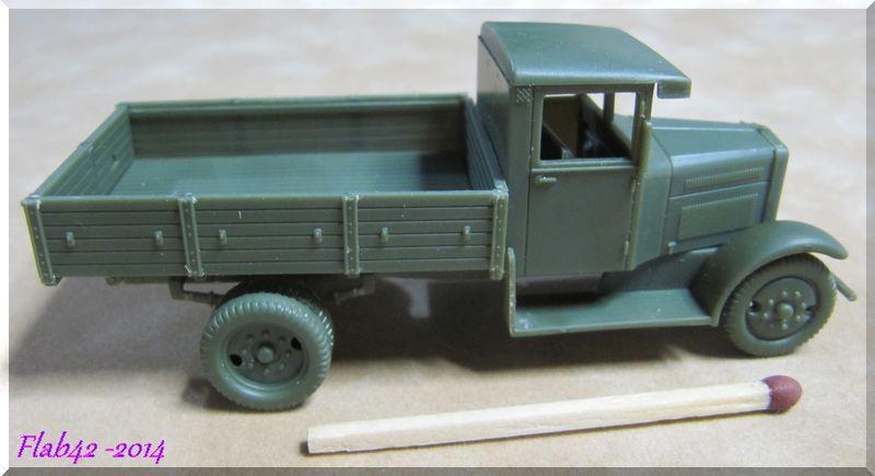 Camion Fiat 621 dans l'armée Polonaise - First to flight - 1/72ème 193124722