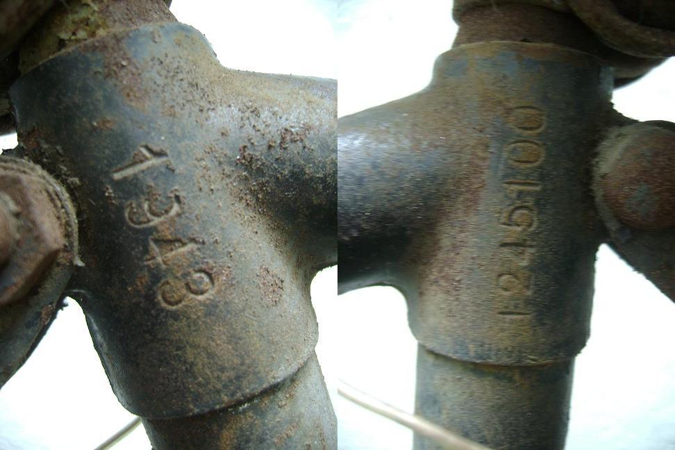 Le Truppenfahrrad M39. 194770marquage