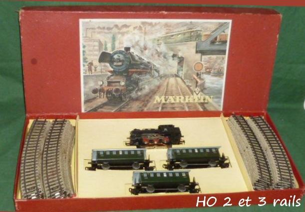 Coffrets Märklin 1936 - 1968 (rouges, noirs, verts ou bleus) 195735Marklinzugpackung31002R