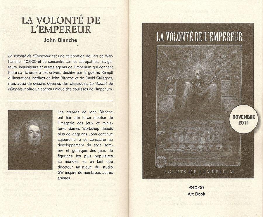 La Volonté de l'Empereur de John Blanche (Art Book) 197357Lavolontedelempereur